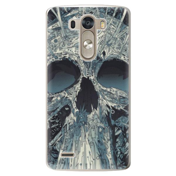 Plastové pouzdro iSaprio - Abstract Skull - LG G3 (D855)