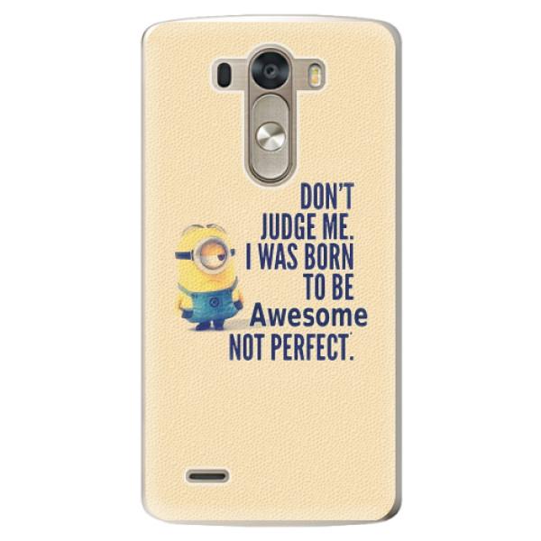 Plastové pouzdro iSaprio - Be Awesome - LG G3 (D855)