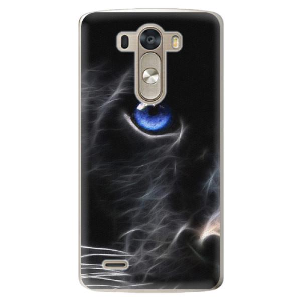Plastové pouzdro iSaprio - Black Puma - LG G3 (D855)