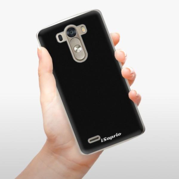 Plastové pouzdro iSaprio - 4Pure - černý - LG G3 (D855)
