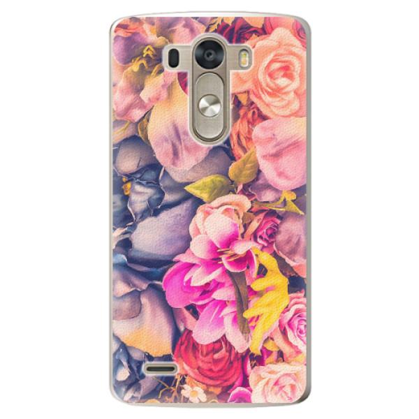 Plastové pouzdro iSaprio - Beauty Flowers - LG G3 (D855)
