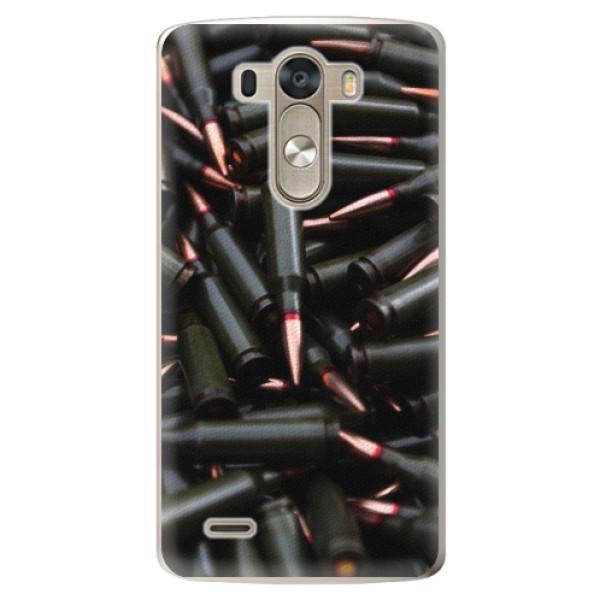 Plastové pouzdro iSaprio - Black Bullet - LG G3 (D855)