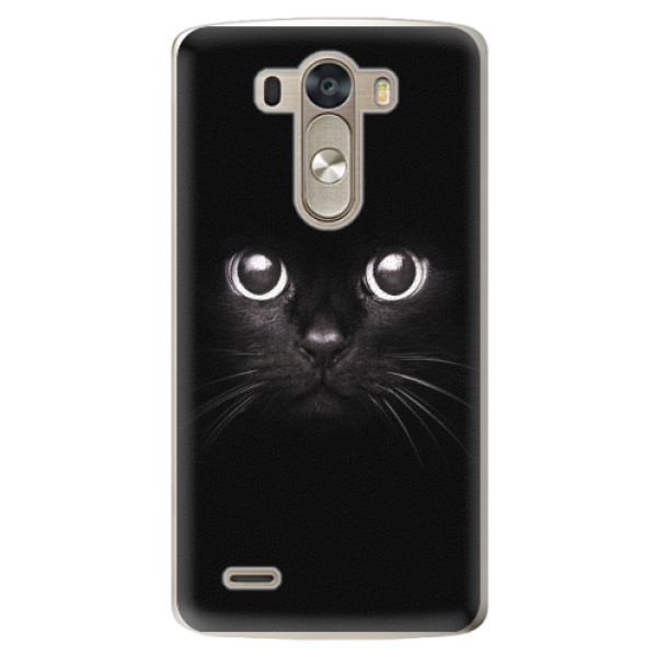 Plastové pouzdro iSaprio - Black Cat - LG G3 (D855)