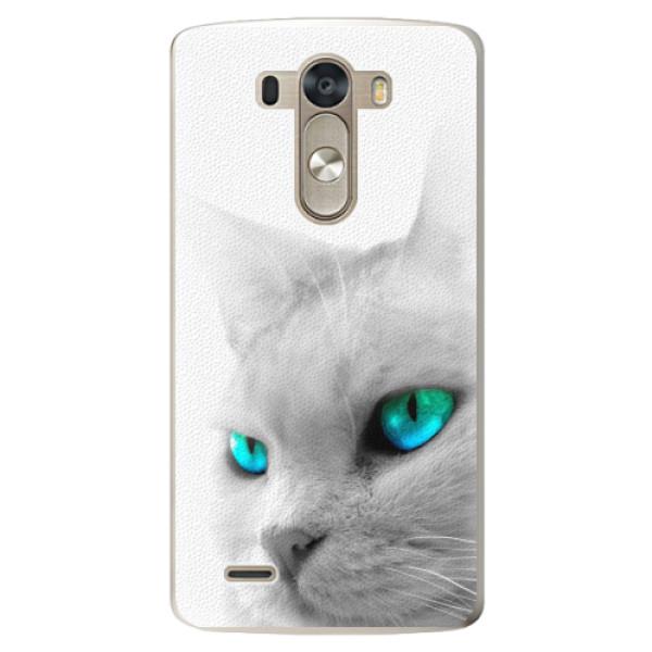 Plastové pouzdro iSaprio - Cats Eyes - LG G3 (D855)
