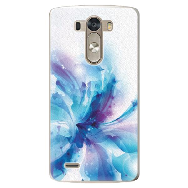Plastové pouzdro iSaprio - Abstract Flower - LG G3 (D855)