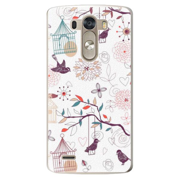 Plastové pouzdro iSaprio - Birds - LG G3 (D855)