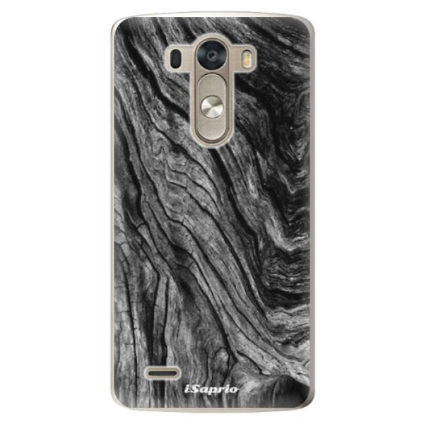Plastové pouzdro iSaprio - Burned Wood - LG G3 (D855)