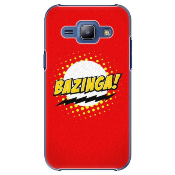 Plastové pouzdro iSaprio - Bazinga 01 - Samsung Galaxy J1