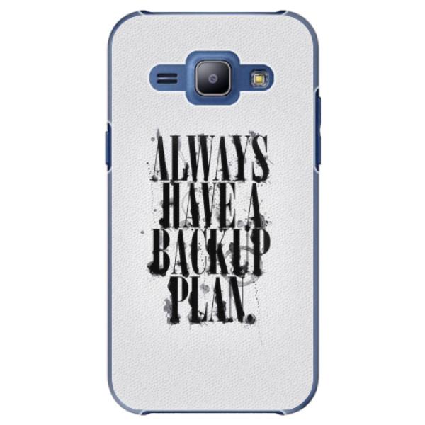 Plastové pouzdro iSaprio - Backup Plan - Samsung Galaxy J1