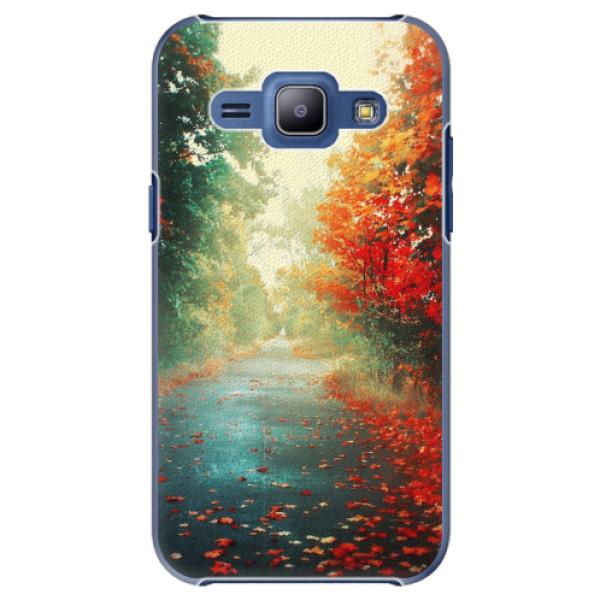 Plastové pouzdro iSaprio - Autumn 03 - Samsung Galaxy J1