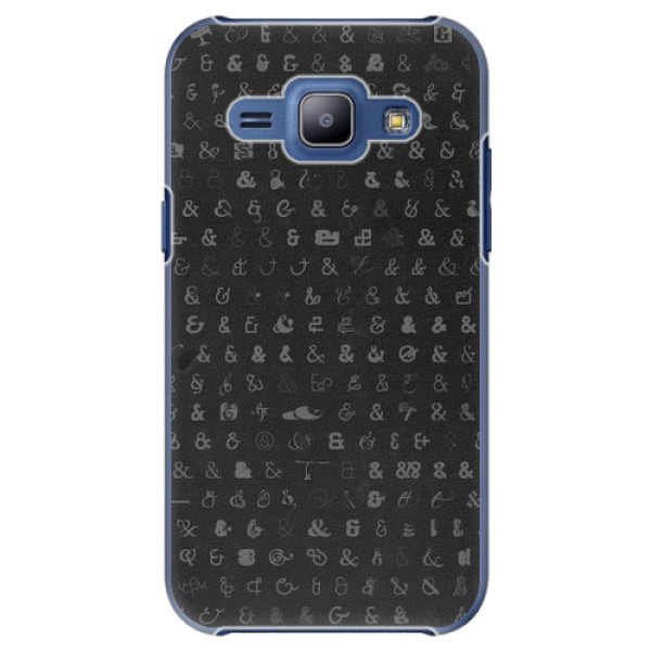 Plastové pouzdro iSaprio - Ampersand 01 - Samsung Galaxy J1