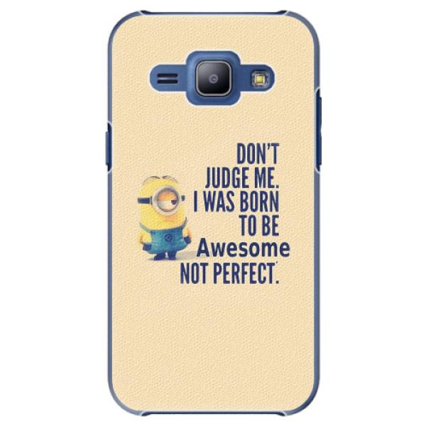 Plastové pouzdro iSaprio - Be Awesome - Samsung Galaxy J1
