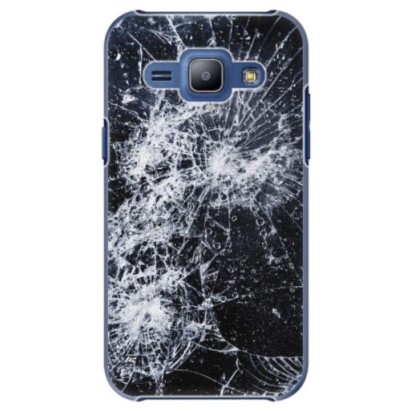 Plastové pouzdro iSaprio - Cracked - Samsung Galaxy J1