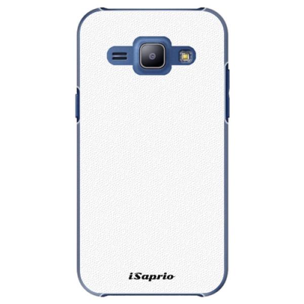 Plastové pouzdro iSaprio - 4Pure - bílý - Samsung Galaxy J1
