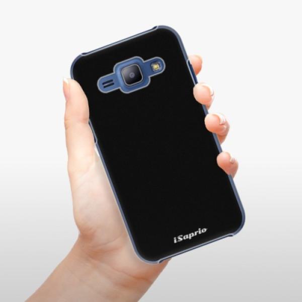Plastové pouzdro iSaprio - 4Pure - černý - Samsung Galaxy J1