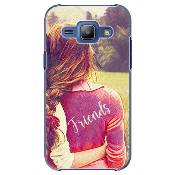 Plastové pouzdro iSaprio - BF Friends - Samsung Galaxy J1