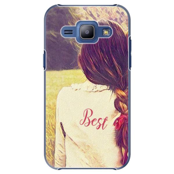 Plastové pouzdro iSaprio - BF Best - Samsung Galaxy J1