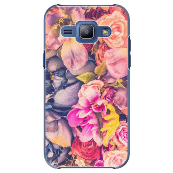 Plastové pouzdro iSaprio - Beauty Flowers - Samsung Galaxy J1