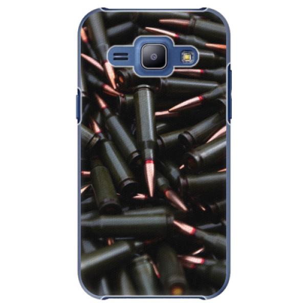 Plastové pouzdro iSaprio - Black Bullet - Samsung Galaxy J1