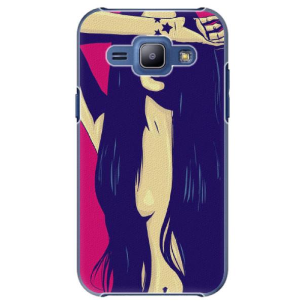 Plastové pouzdro iSaprio - Cartoon Girl - Samsung Galaxy J1