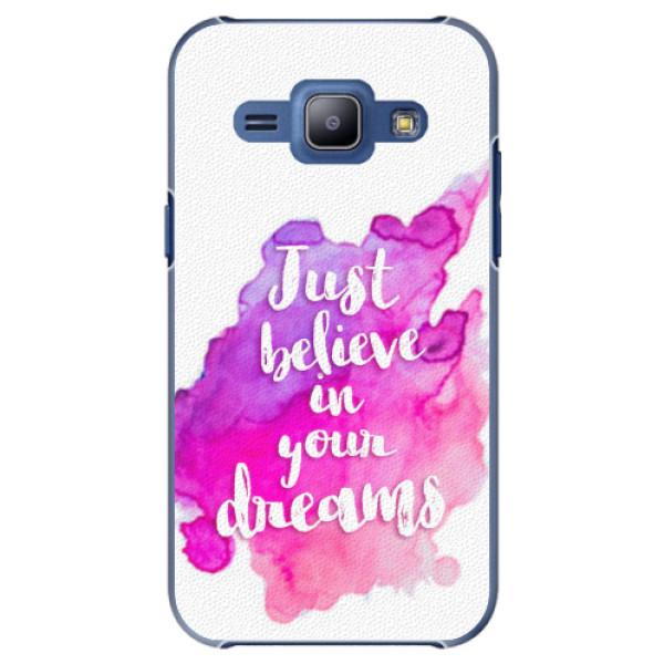Plastové pouzdro iSaprio - Believe - Samsung Galaxy J1