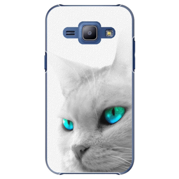 Plastové pouzdro iSaprio - Cats Eyes - Samsung Galaxy J1