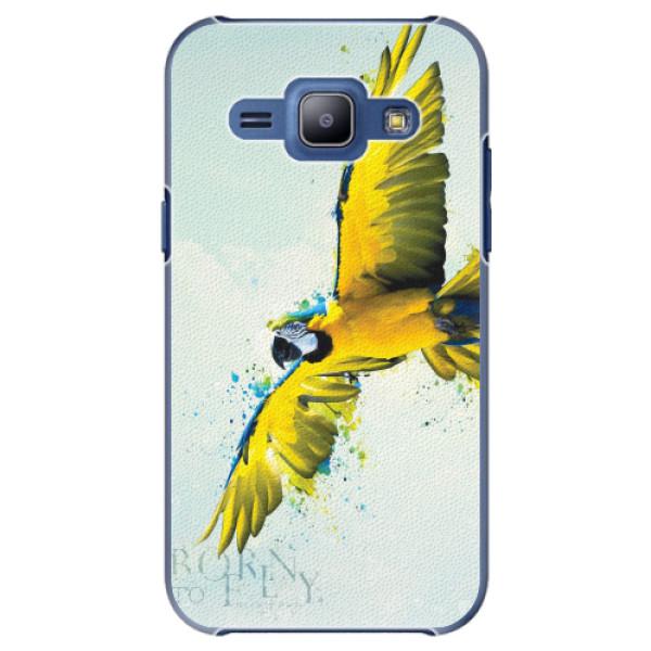 Plastové pouzdro iSaprio - Born to Fly - Samsung Galaxy J1