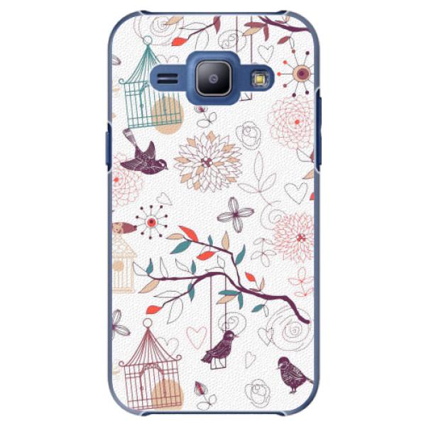Plastové pouzdro iSaprio - Birds - Samsung Galaxy J1