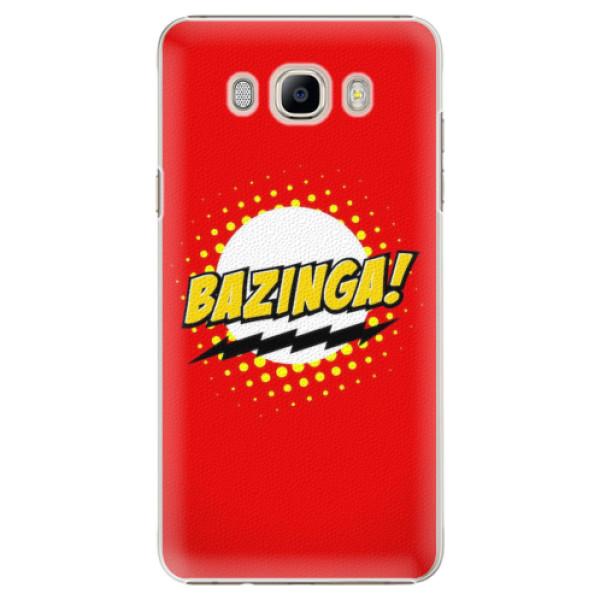 Plastové pouzdro iSaprio - Bazinga 01 - Samsung Galaxy J7 2016