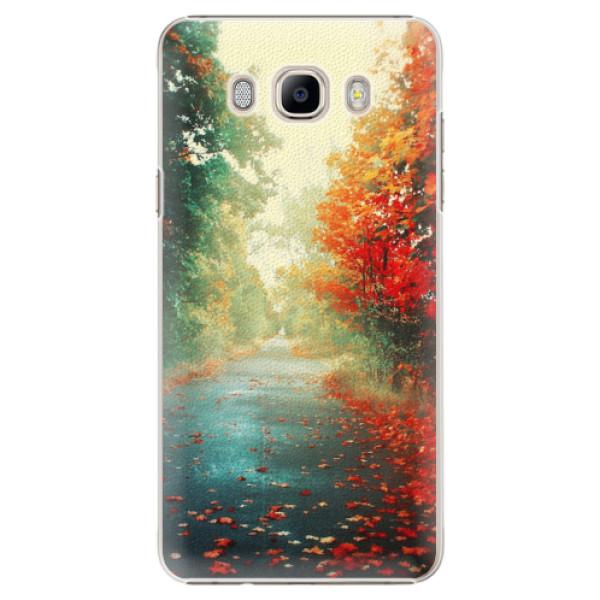 Plastové pouzdro iSaprio - Autumn 03 - Samsung Galaxy J7 2016