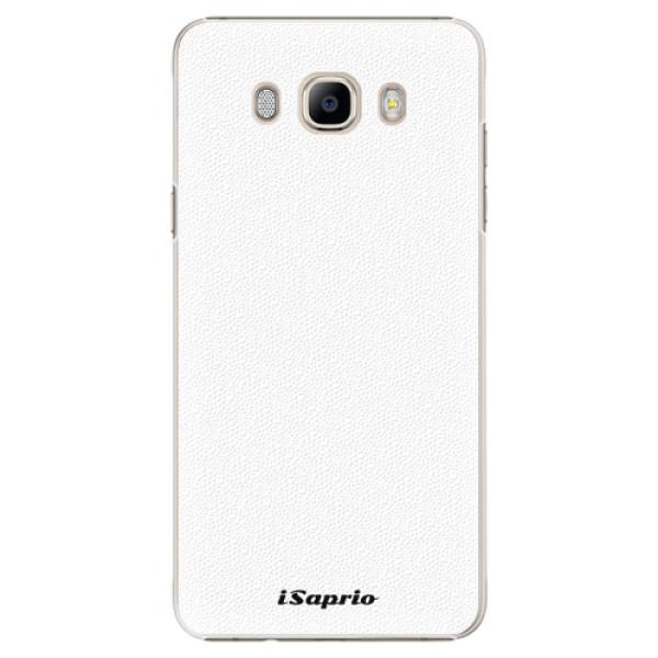 Plastové pouzdro iSaprio - 4Pure - bílý - Samsung Galaxy J7 2016
