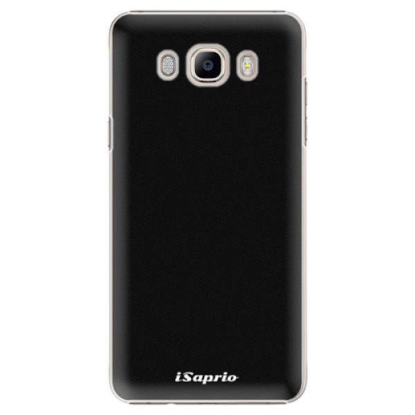 Plastové pouzdro iSaprio - 4Pure - černý - Samsung Galaxy J7 2016