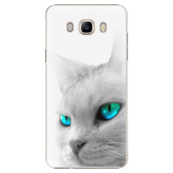 Plastové pouzdro iSaprio - Cats Eyes - Samsung Galaxy J7 2016