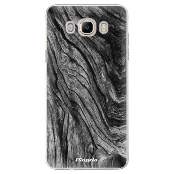 Plastové pouzdro iSaprio - Burned Wood - Samsung Galaxy J7 2016
