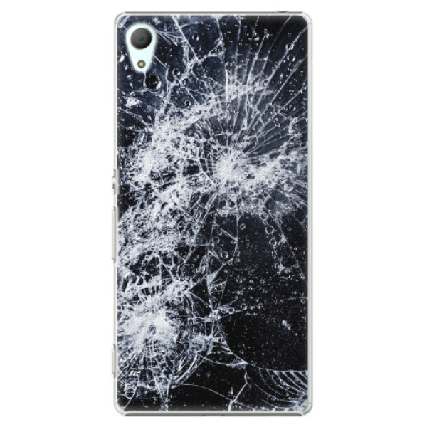 Plastové pouzdro iSaprio - Cracked - Sony Xperia Z3+ / Z4