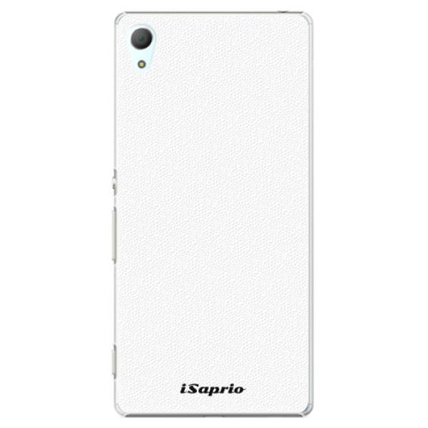 Plastové pouzdro iSaprio - 4Pure - bílý - Sony Xperia Z3+ / Z4
