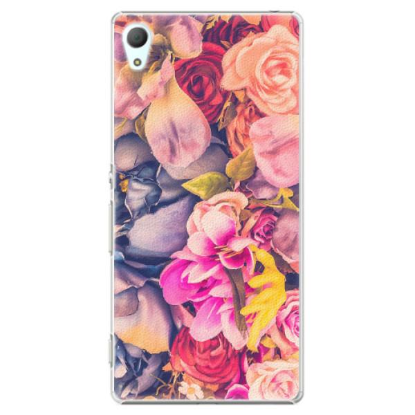 Plastové pouzdro iSaprio - Beauty Flowers - Sony Xperia Z3+ / Z4