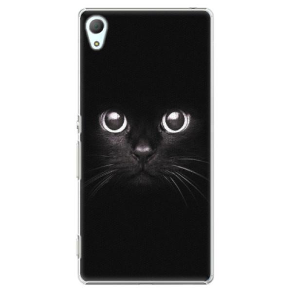 Plastové pouzdro iSaprio - Black Cat - Sony Xperia Z3+ / Z4