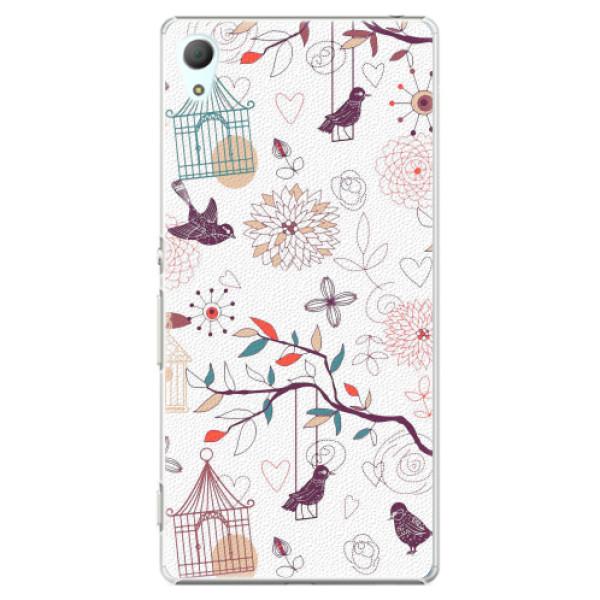 Plastové pouzdro iSaprio - Birds - Sony Xperia Z3+ / Z4