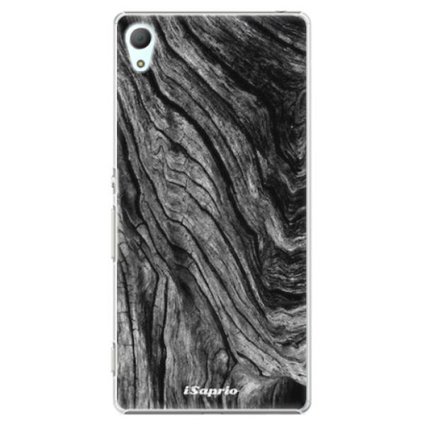 Plastové pouzdro iSaprio - Burned Wood - Sony Xperia Z3+ / Z4