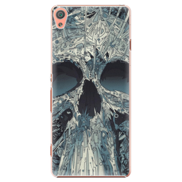 Plastové pouzdro iSaprio - Abstract Skull - Sony Xperia XA