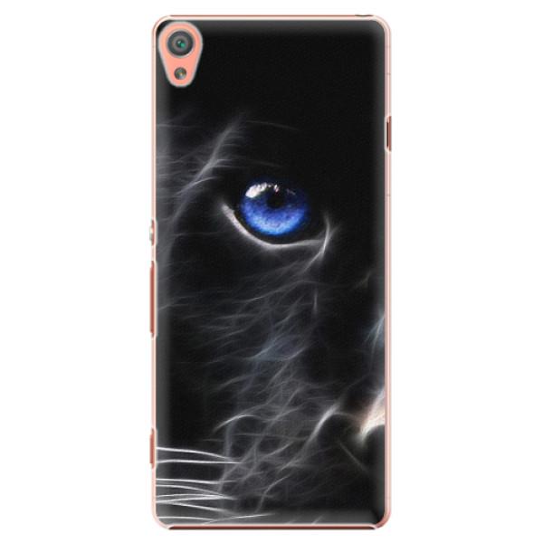 Plastové pouzdro iSaprio - Black Puma - Sony Xperia XA