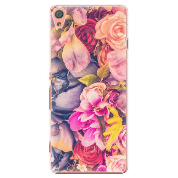 Plastové pouzdro iSaprio - Beauty Flowers - Sony Xperia XA