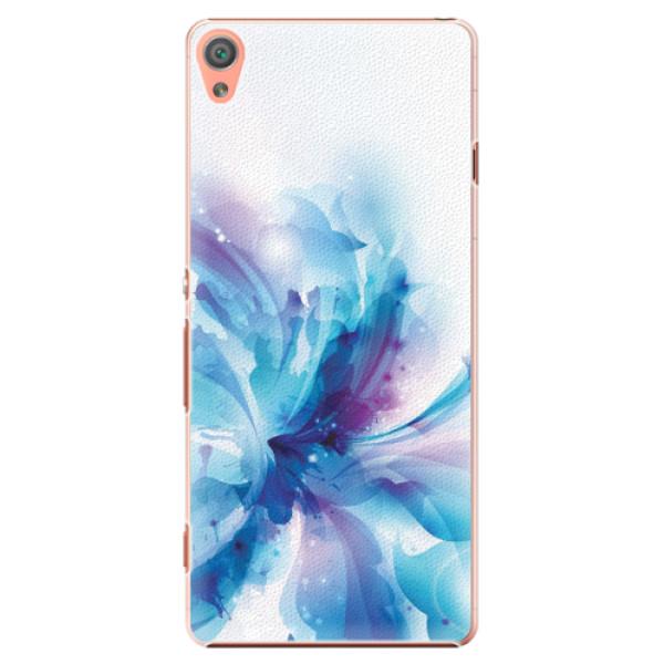Plastové pouzdro iSaprio - Abstract Flower - Sony Xperia XA