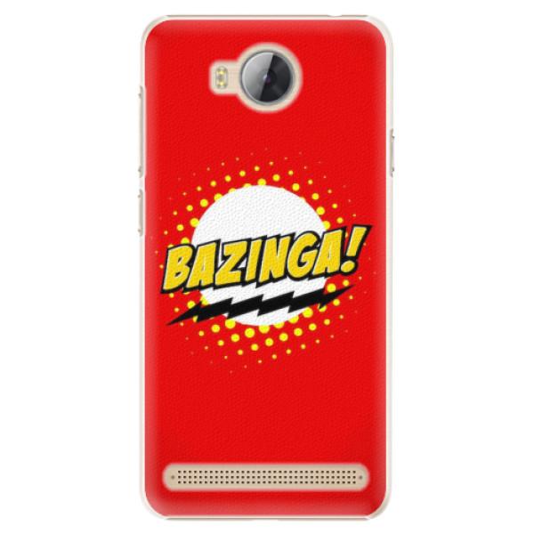 Plastové pouzdro iSaprio - Bazinga 01 - Huawei Y3 II