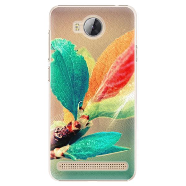 Plastové pouzdro iSaprio - Autumn 02 - Huawei Y3 II