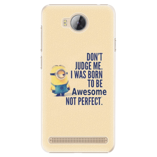 Plastové pouzdro iSaprio - Be Awesome - Huawei Y3 II