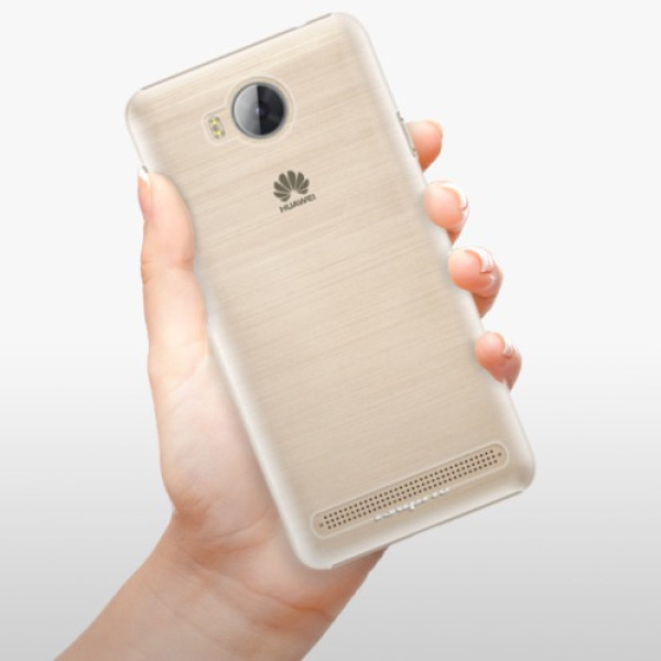 Plastové pouzdro iSaprio - 4Pure - mléčný bez potisku - Huawei Y3 II