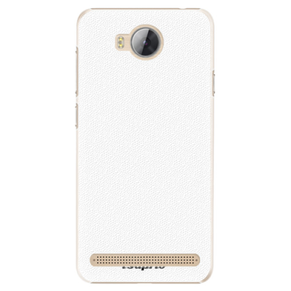 Plastové pouzdro iSaprio - 4Pure - bílý - Huawei Y3 II
