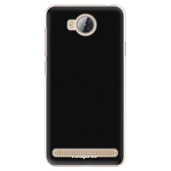 Plastové pouzdro iSaprio - 4Pure - černý - Huawei Y3 II